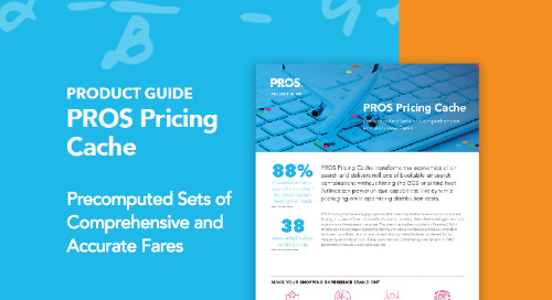 PROS Pricing Cache Product Guide