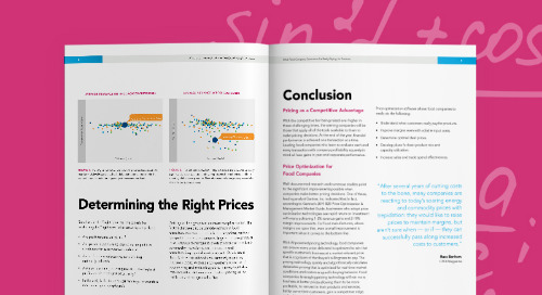 Pricing in the Food Industry: A Powerful Lever to Increase Revenue and Margins