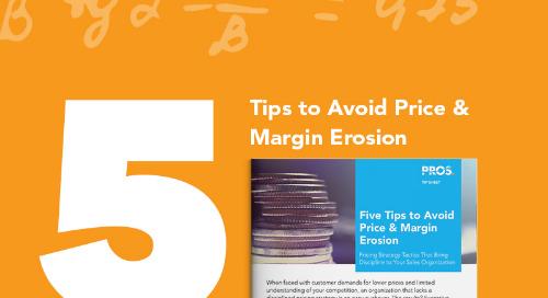 5 Tips to Avoid Price & Margin Erosion