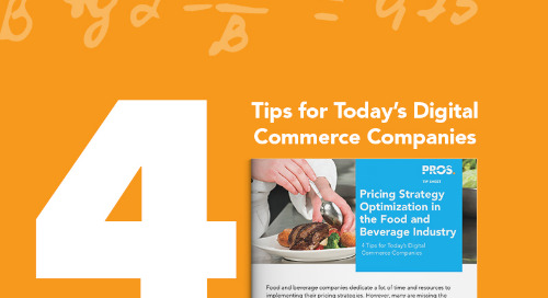 Pricing Strategy Optimization in the Food and Beverage Industry
