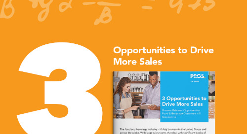 3 Opportunities to Drive More Sales