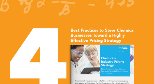 4 Best Practices for Pricing Strategy in the Chemicals Industry