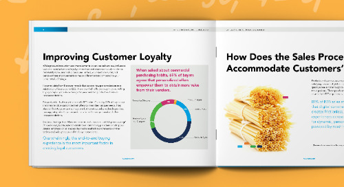 Serving Up the Right Sales Experience to Drive Growth for Food and Beverage Manufacturers
