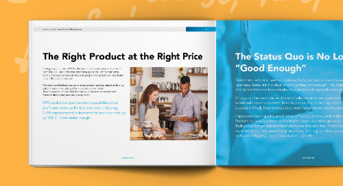 Deliver the Right Sales Experience to Increase Revenue for Dairy Manufacturers