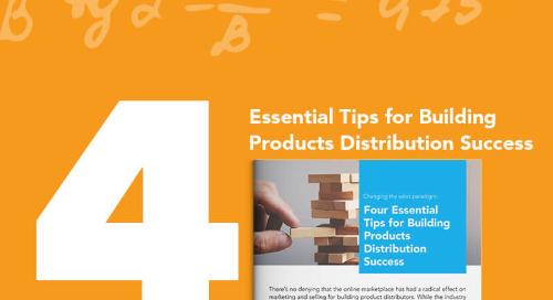 Maintaining the Status Quo in Today's Landscape Could be the Death Knell for Building Product Distributors