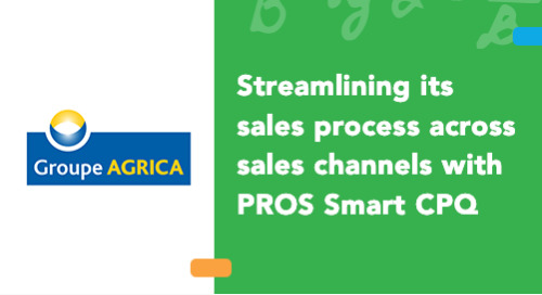 Agrica Group Streamlines its Sales Process Across Sales Channels with PROS Smart CPQ
