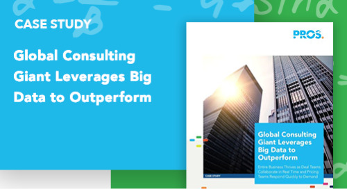 Global Consulting Giant Leverages Big Data to Outperform