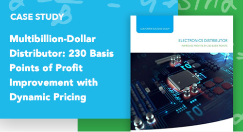 Multibillion-Dollar Distributor: 230 Basis Points of Profit Improvement with Dynamic Pricing