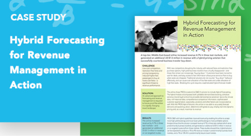 Hybrid Forecasting for Revenue Management in Action