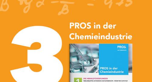 PROS in der Chemieindustrie