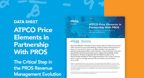 ATPCO Price Elements in Partnership with PROS