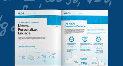 The PROS Commerce Platform for Distribution
