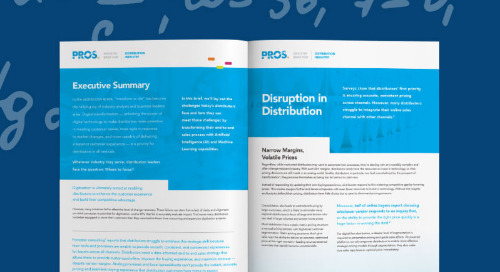 Rethinking Pricing, Revenues & Margin in Distribution