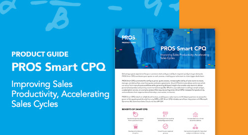 PROS Smart CPQ Product Guide