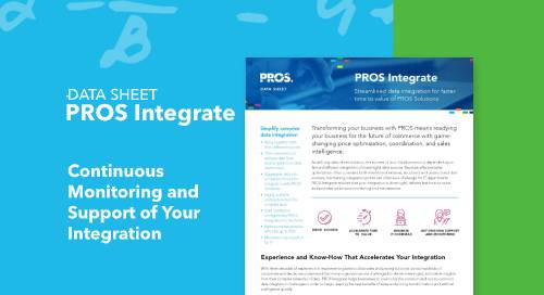 PROS Integrate Solution Guide