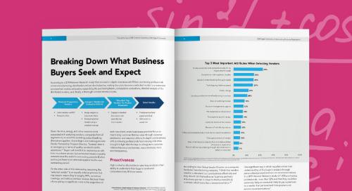 B2B Digital Commerce: Understanding Customer Expectations