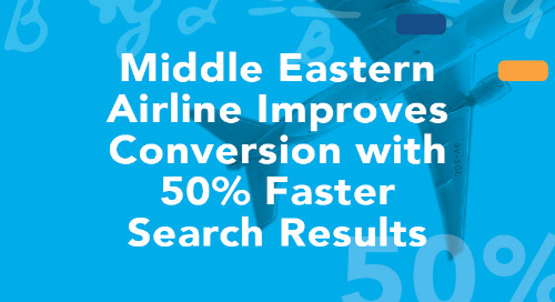 Middle Eastern Airline Improves Conversion with 50% Faster Search Results Using PROS Shopping