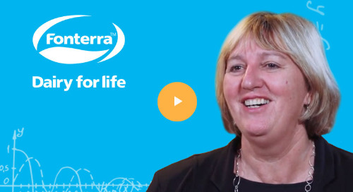 Fonterra Improves Efficiency and Reshapes its Customer Experience