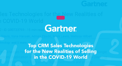 Top CRM Sales Technologies for the New Realities of Selling in the COVID-19 World