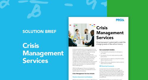 Airline Crisis Management Services