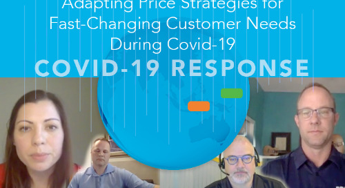 Adapting Price Strategies for Fast-Changing Customer Needs During Covid-19