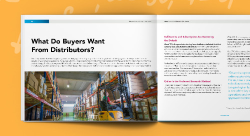 B2B Buyer Survey: Distribution Industry Results