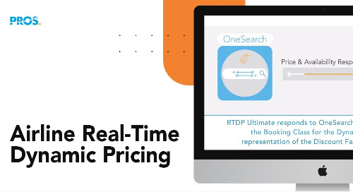 Bring Dynamic Pricing to Life with PROS RTDP