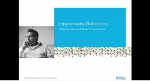Opportunity Detection Dynamics 365 Experience