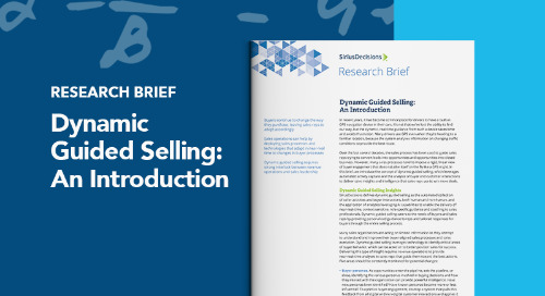 Dynamic Guided Selling: An Introduction