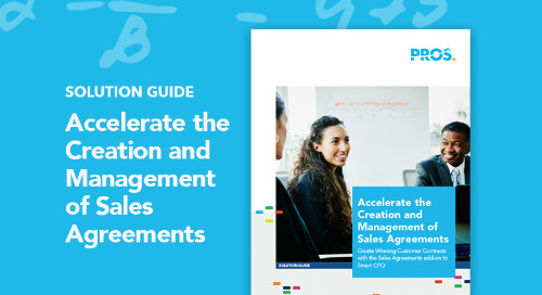 Accelerate the Creation and Management of Sales Agreements
