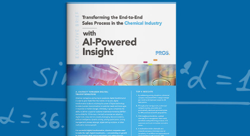 Transforming Pricing and Selling in the Chemical Industry