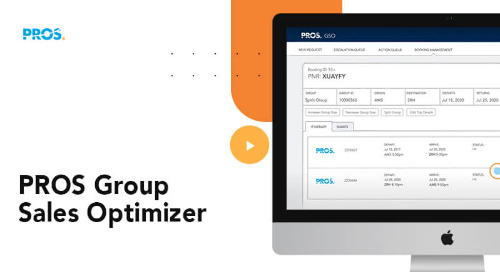 Transform Group Sales with PROS Group Sales Optimizer