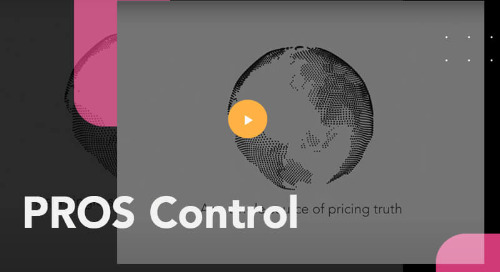 Optimize Price Strategy and Management with PROS Control