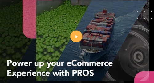 Power up your eCommerce Experience with PROS