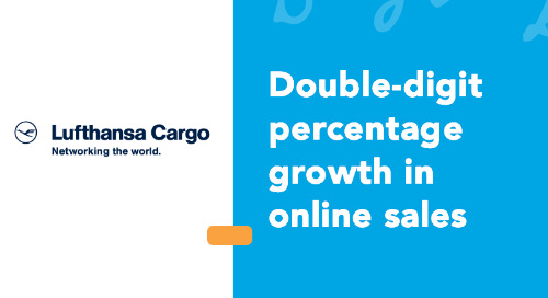 Lufthansa Cargo's Online Sales Picks up Double-Digit Growth