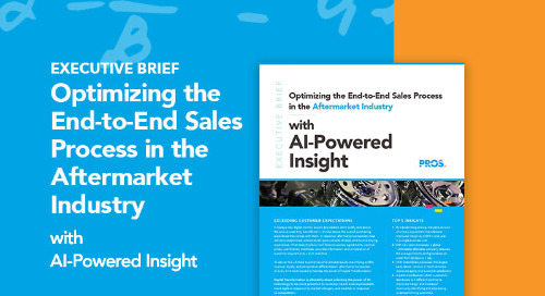 Maximizing Revenue, Profits & Loyalty in the Aftermarket Industry