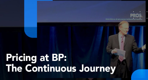 Pricing at BP: The Continuous Journey