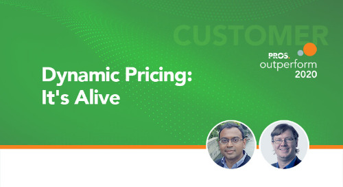 Dynamic Pricing: It's Alive