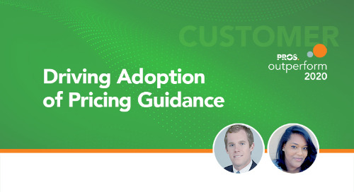 Driving Adoption of Pricing Guidance
