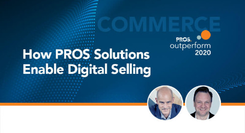 How PROS Solutions Enable Digital Selling