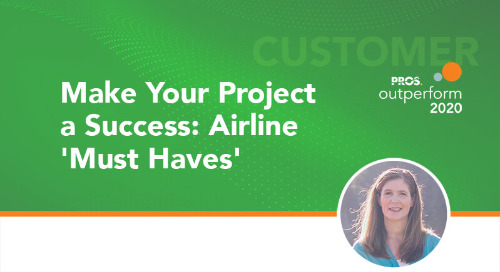 Make Your Project a Success: Airline 'Must Haves'