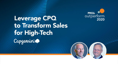 Leverage CPQ to Transform Sales for High-Tech