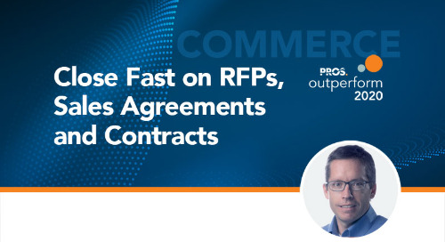 Close Fast on RFPs, Sales Agreements and Contracts