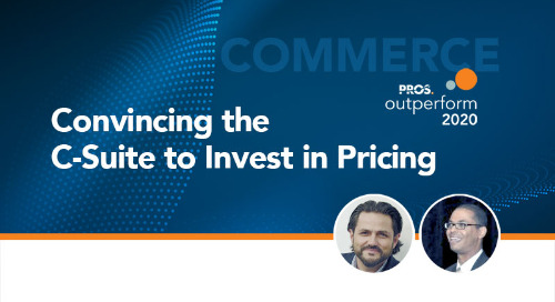 Convincing the C-Suite to Invest in Pricing