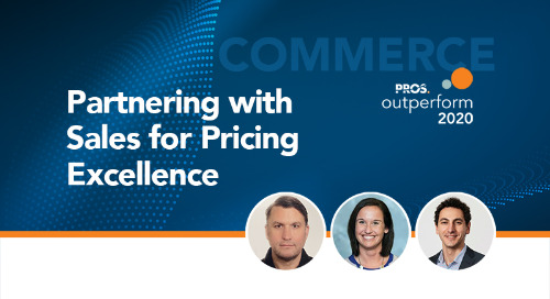 Partnering with Sales for Pricing Excellence