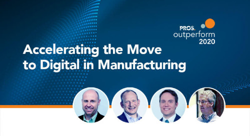 Accelerating the Move to Digital in Manufacturing