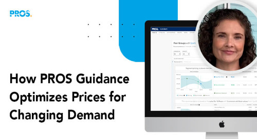 How PROS Guidance Optimizes Prices for Changing Demand
