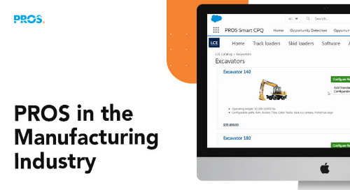 Demo: PROS in the Manufacturing Industry