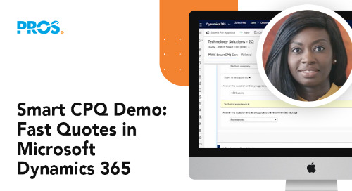 Smart CPQ Demo: Fast Quotes in Microsoft Dynamics 365