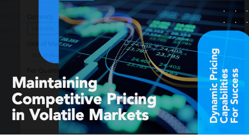 Maintaining Competitive Pricing in Volatile Markets